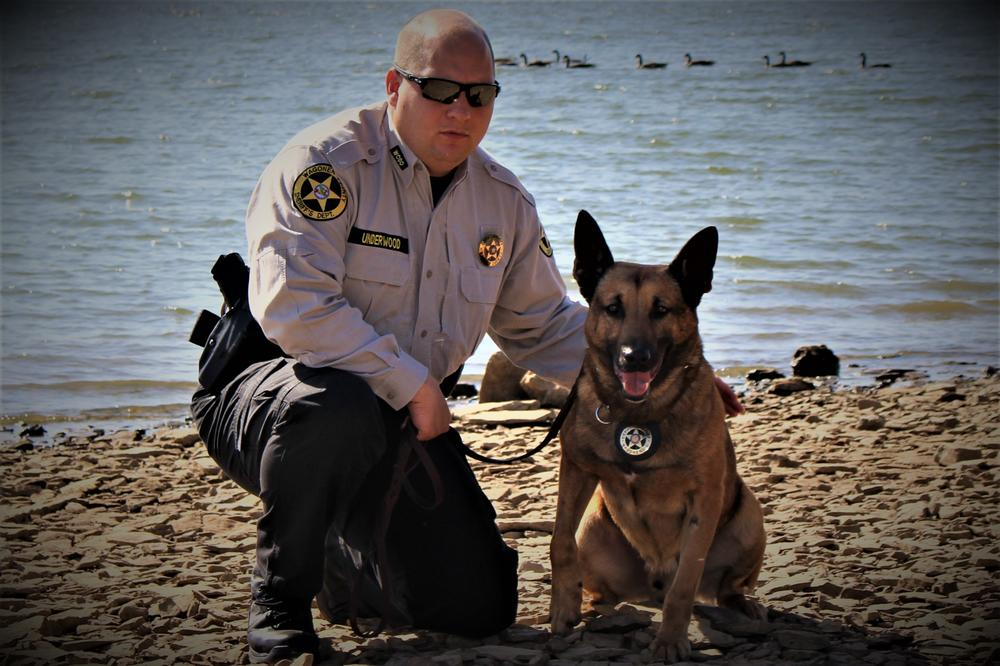 Underwood and K9 EDO