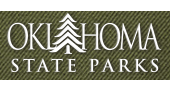 A gradient image over the words 'Oklahoma State Parks'